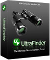 UltraFinder software box