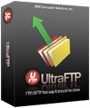 UltraFTP software box