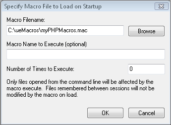 Auto-load macro with project