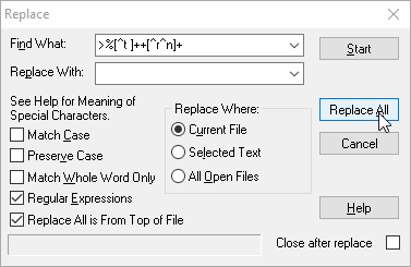 How To Remove Blank Lines In Code Using Regular Expressions