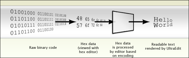 Diagram of encoding