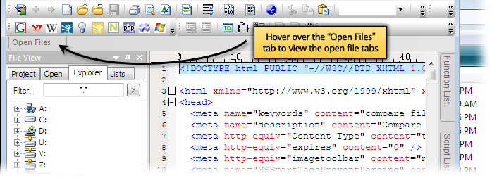 introduction to tabbed document interface This lesson teaches you how to create a tab layout with swipe views for switching  between tabs, or how to show a title strip instead of tabs.