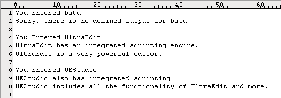 Integrated Scripting Engine