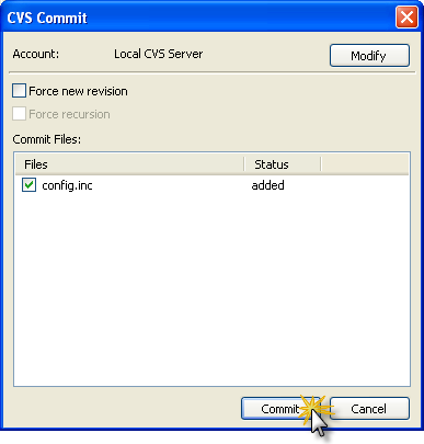 Version Control Add File