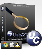UltraCompare is a powerful file and folder comparison utility