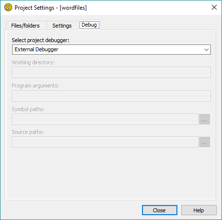 UEStudio Project Settings - UltraEdit Wiki